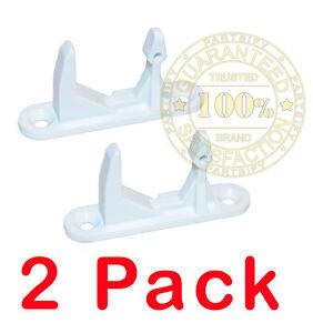 2 Pack 11317633109 New Washer Door Lock Strike Latch Fits