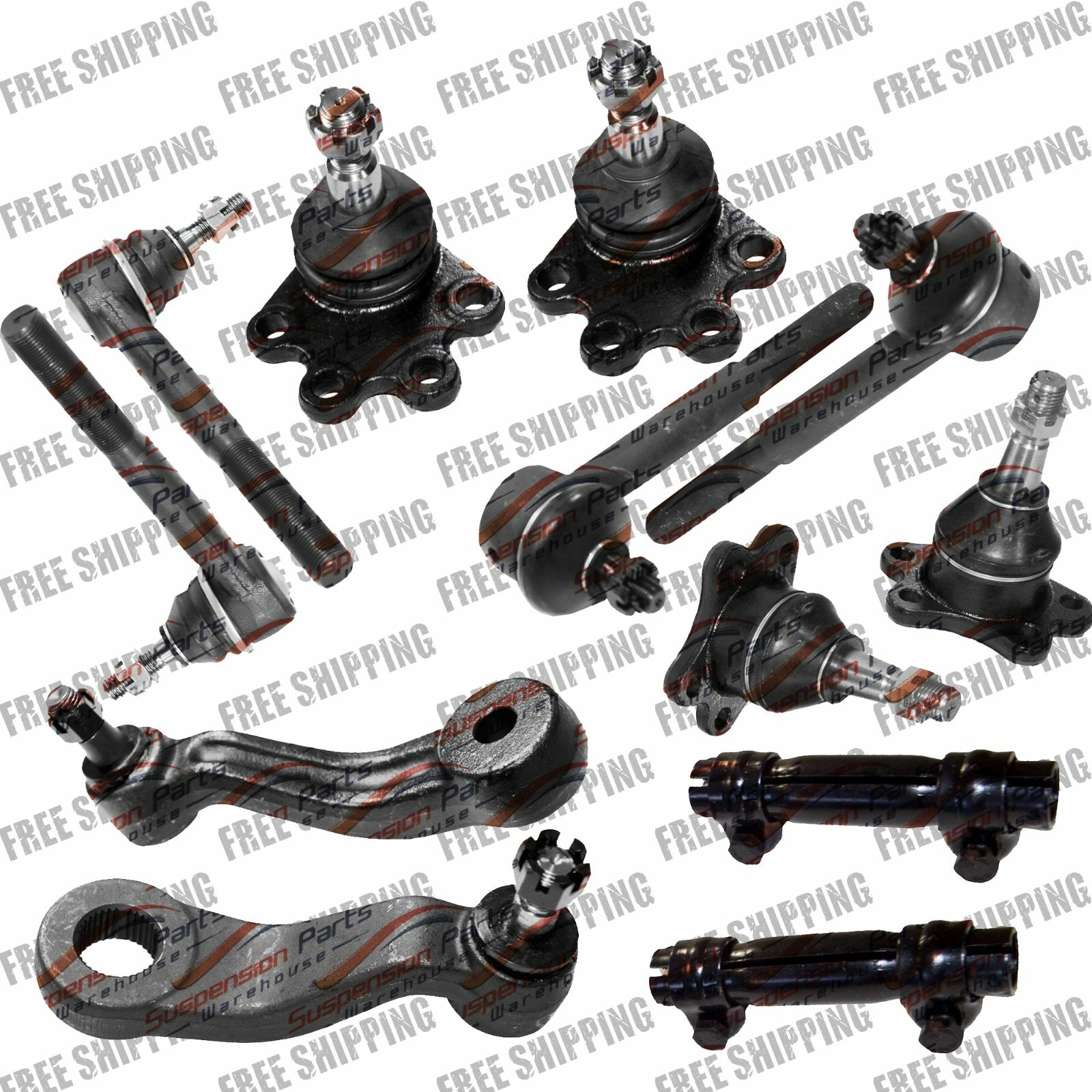 New Steering Kit Tie Rod End + Ball Joint (ON TYPE) For