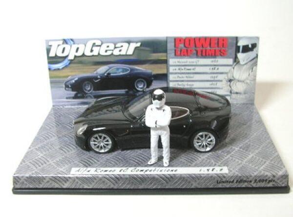 Alfa romeo 8C competizione (black) - top gear