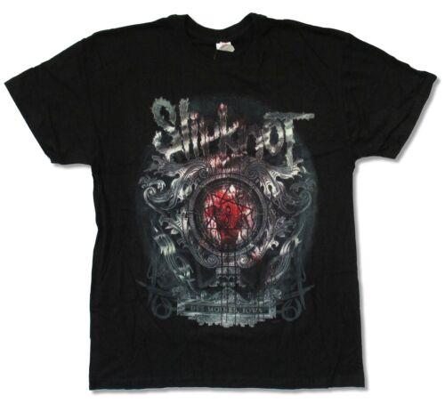Slipknot Bloody Mirror Black T Shirt New Official Band Merch