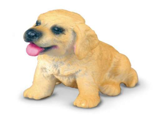 Golden Retriever Puppy 4,5 cm Dogs and Cats Collecta 88117