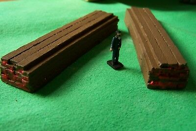 O Gauge Four Timber Plank Loads. Garanzia Al 100%