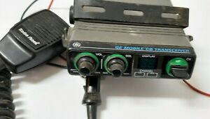 GE-Mobile-CB-Transceiver-Model-No-3-5809B-40-Channel-Untested-Pre-owned