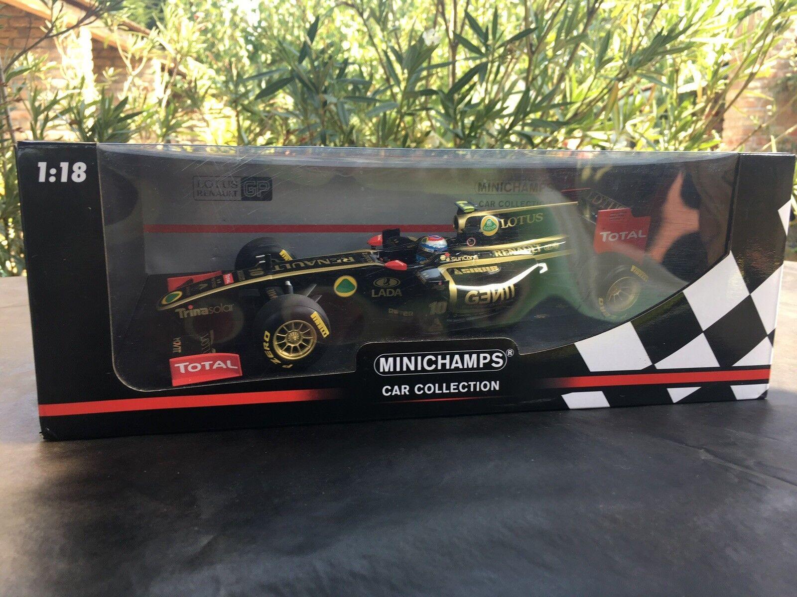 Minichamps Lotus Renault GP V. Petrov 2018 Showcar, Edición Limitada Muy Rara,