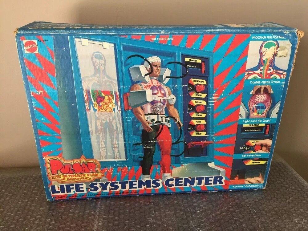Vintage 1976 Mattel Pulsar-Life Systems Center-near Complete Missing Hoses