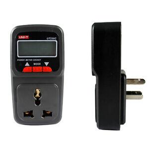 UT230C-Multi-function-Power-Meter-Socket-Energy-Electricity-Meter
