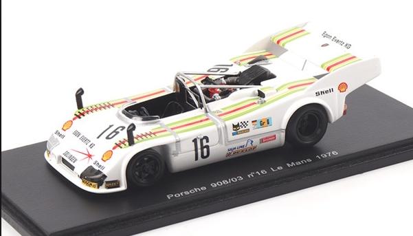 1 43 Spark Porsche 908 03 Car  16 1976 24 H of LeMans S1998