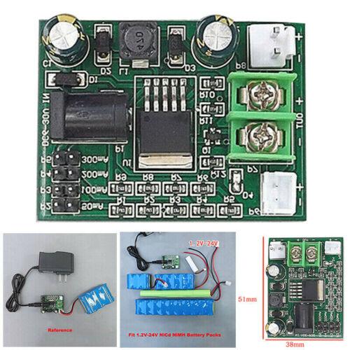 1.2~24V 2.4 3.6 12V Ni-Cd Ni-MH NiCd Batteries Charger Module Chargingyu