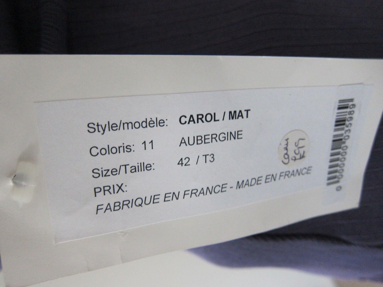 Lil POUR L'AUTRE manica lunga Cardigan & corrispondenza Canottiera Top Top Top colore melanzana taglia 14 b1ca8f