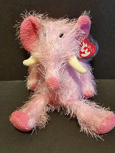 2002-TY-Beanie-Punkies-Pipsqueak-the-Elephant
