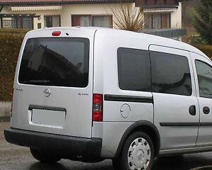 Tönungsfolie passgenau schwarz 85/% Opel Combo C Tour mit Flügeltüren 2001