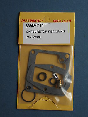 Yamaha xt 500 xt500 carburador reparac carburettor Repair set new nuevo