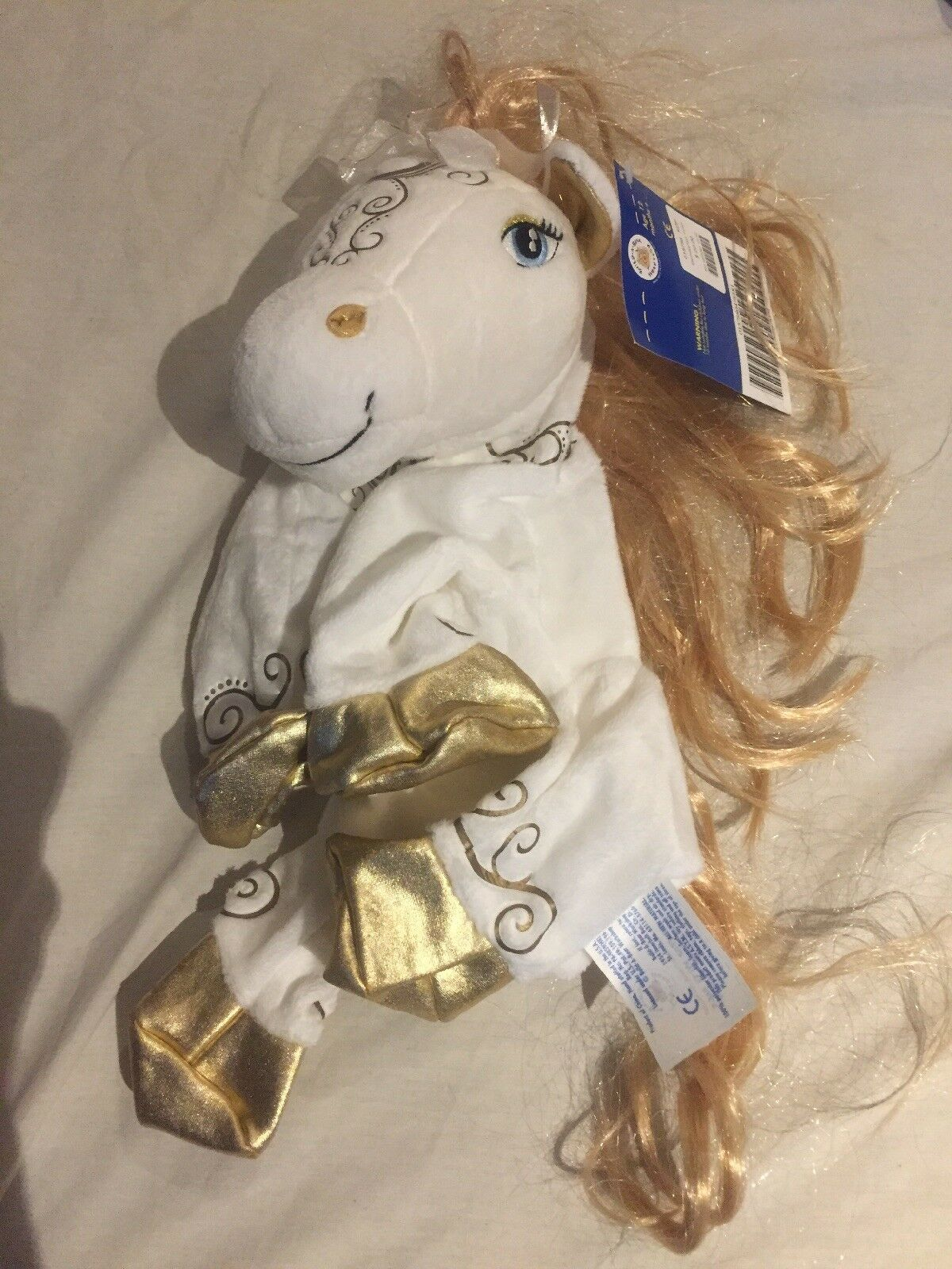 Build a Bear Enchanted Pony Brand New With Tags Never Stuffed