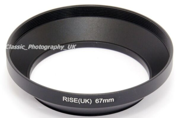 Ultra Wide Angle 67 Mm Lens Hood Pour Smc Pentax - 6x7 1:4 55 Mm Fujifilm Nikkor Afd