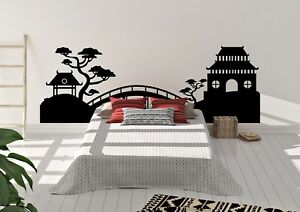China-Paisaje-Arboles-Estupendo-Diseno-Hogar-Decoracion-Pared-Arte-Calcomania-Vinilo-Sticker