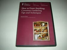 GREAT COURSES:How to Grow Anything: Container Gardening Tips and Techniques,2013