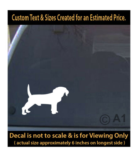 Beagle dog 6 inch decal pet lover man best friend car laptop more swp1/_56b