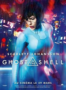 Ghost In The Shell Movie Poster Scarlett Johansson Art Print 13 20 24 36 32 48 Ebay