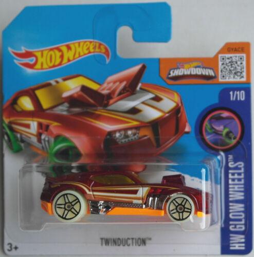 Spielzeugautos Twinduction weinrotmet./orange Neu/OVP Hot Wheels