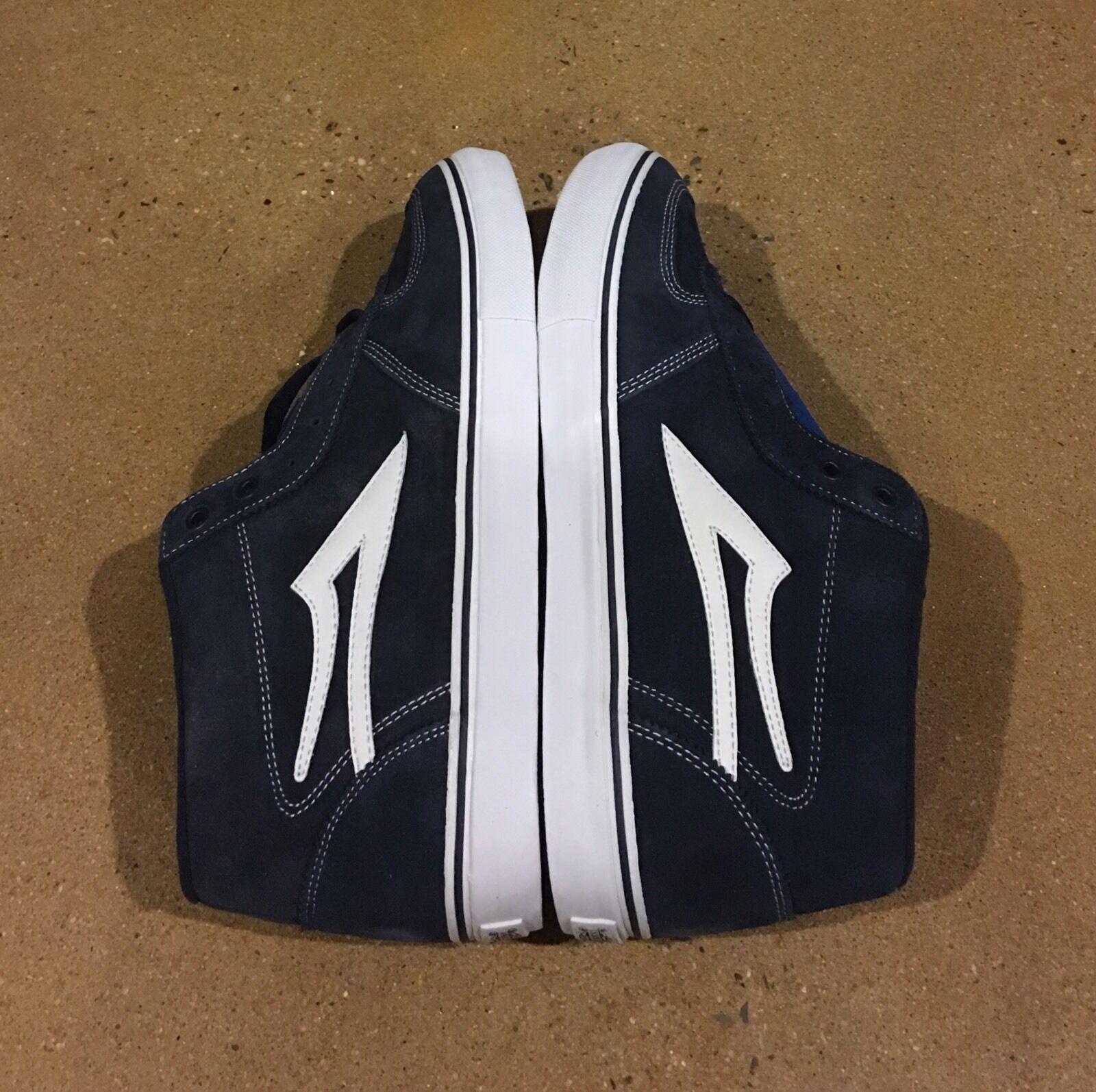 Lakai Cairo Select Size 13 Navy Suede Cairo Foster Pro Model Skate Shoes Scarpe classiche da uomo