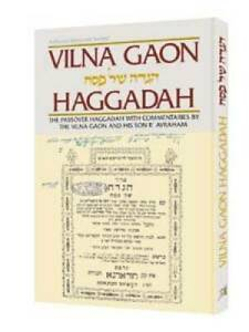 Vilna-Gaon-Haggadah-The-Passover-Haggadah-With-Commentaries-by-the-VERY-GOOD