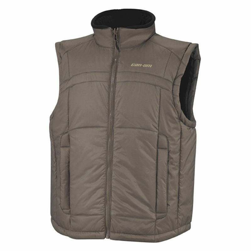 Can-Am Primaloft Insultated Vest - Brown