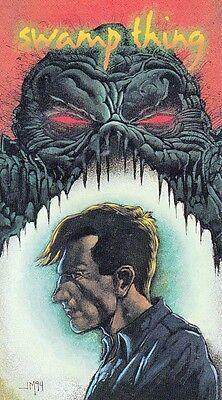 DC VERTIGO 1994 SKYBOX WIDEVISION PROMO CARD SP1 SWAMP THING JOHN MUELLER