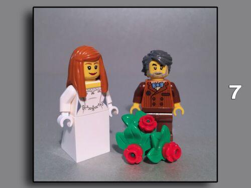 Brautpaar Braut Bräutigam Hochzeit Lego Figuren Minifiguren City