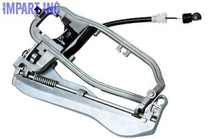 For BMW X5 Front Driver Left Outer Door Handle Carrier Assy+Cable /& Handle Kit
