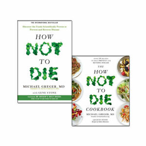 How-Not-To-Die-Cookbook-Recipes-Collection-2-Books-Pack-Set-Reverse-Disease-NEW