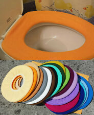 Bathroom Toilet Seat Warmer Cover  Washable - Orange - LifeLong Needs
