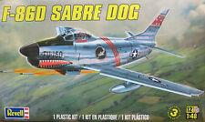 Revell 1/48 F-86D Sabre Dog Plastic Model Kit 85-5868
