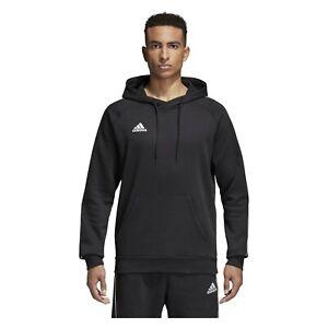 Adidas-Hoody-Mens-Core-18-Hoodie-Pullover-Sweatshirt-Training-Top-Hoodies-Size