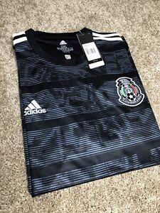 2019 Mexique Away Noir Jersey Small-afficher Le Titre D'origine