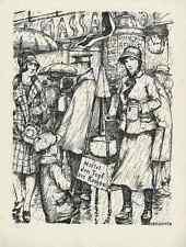 Von der HEILSARMEE - Hans BALUSCHECK Berlin - Strichätzung 1928 HEYDER Verlag