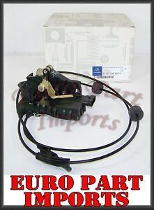 Mercedes w163 rear left door lock latch actuator germany for Door lock germany