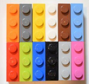 Lego 50x Genuine Bricks 1x3 Part Number 3622 Choose your colour JOB LOT