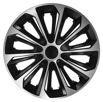 """4x14/"""" Wheel trims wheel covers for Volkswagen Polo 14/"""" black"""