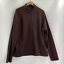 Tailor-Vintage-Mens-Brown-Long-Sleeve-Full-Zip-Fleece-Jacket-Size-XL-XXL thumbnail 1