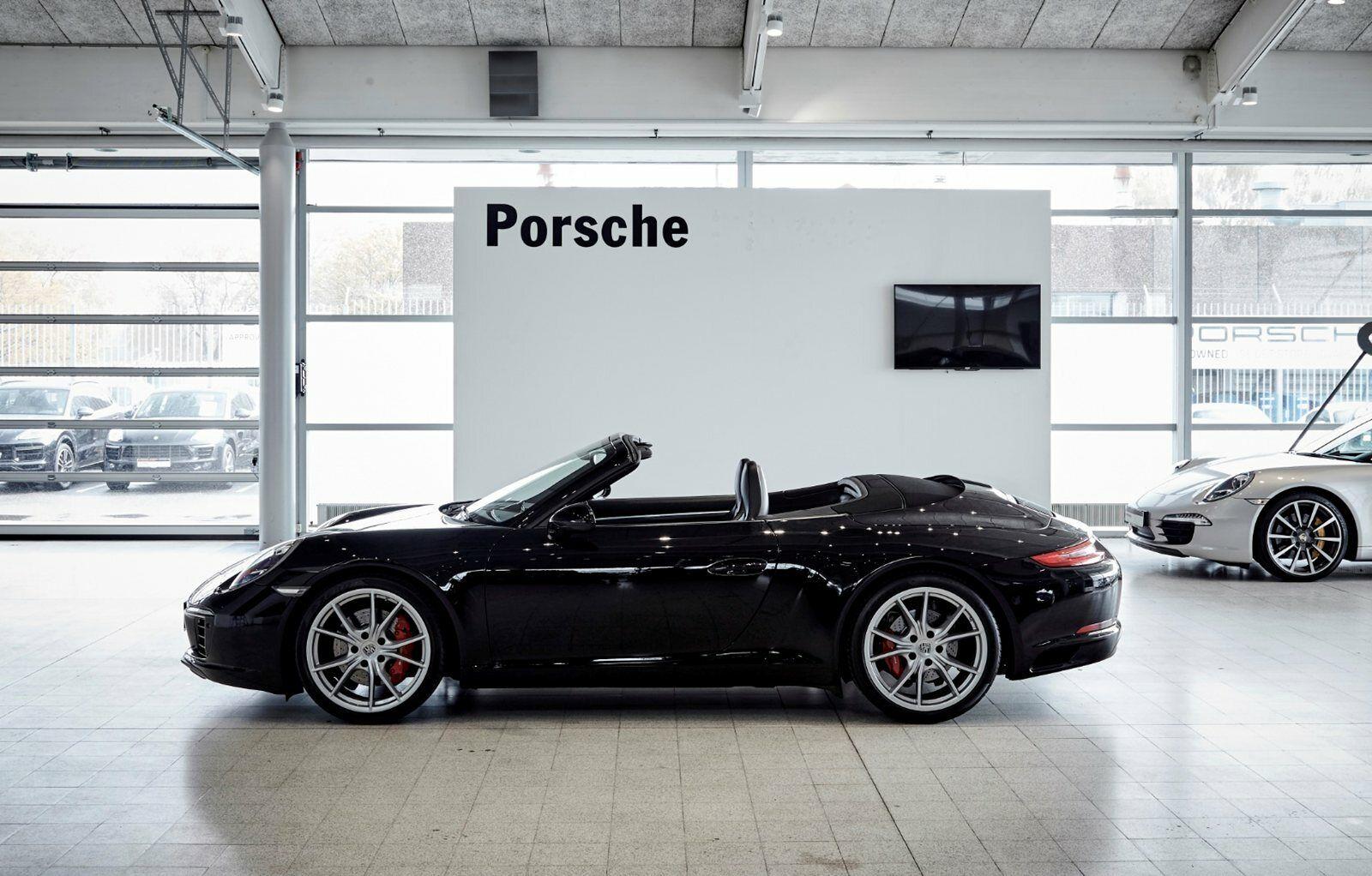 Porsche 911 Carrera S 3,0 Cabriolet PDK 2d - 12.300 kr.