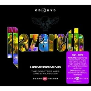 Nazaret-HOMECOMING-Greatest-Hits-Live-a-Glasgow-CD-DVD-Classic-Rock-Nuovo
