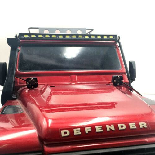 2PCS KYX  RC Car 1//10 Scale Square Led Light Bumper Led Lamp Body Led 7V