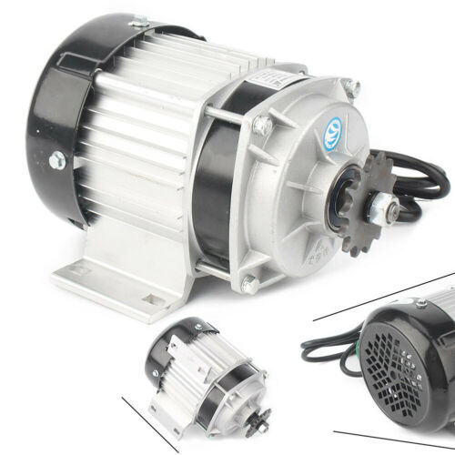 500W 48V Elettrico Motore Brushless Triciclo Gokart FAI DA TE RIDUZIONE INGRANAGGIO MOTORE