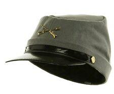 Federal Confederate Army Soldier Kepi WOOL Hat Costume Accessory Civil War Cap