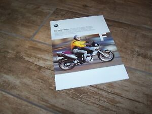 Catalogue / Brochure Bmw F650 / F650 St 1999 //
