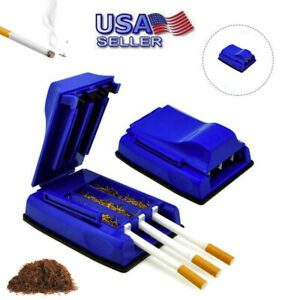 Manual-Triple-Cigarette-Tube-Injector-Roller-Maker-Tobacco-Rolling-Machine-USA