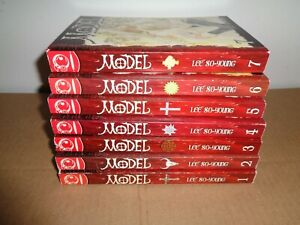 Model Volume 1-7 Manhwa Manga Graphic Novel Comic Book Complete Lot English