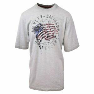 Harley-Davidson-Men-039-s-American-Flag-S-S-Tee-Retail-60