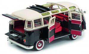 1-18-Schuco-VW-T1-b-Samba-schwarz-weis-450028700
