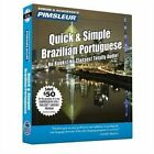 Portuguese (Brazilian), Q&s  : Learn to Speak and Understand Brazilian Portuguese with Pimsleur Language Programs by Pimsleur (CD-Audio, 2010)